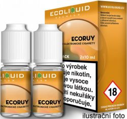 Liquid Ecoliquid Premium 2Pack ECORUY 2x10ml - 20mg