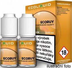 Liquid Ecoliquid Premium 2Pack ECORUY 2x10ml - 6mg