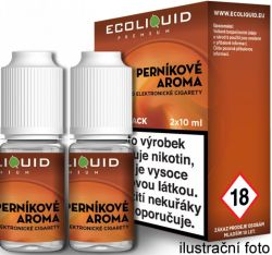 Liquid Ecoliquid Premium 2Pack Gingerbread tobacco 2x10ml - 3mg (Perníkový tabák)