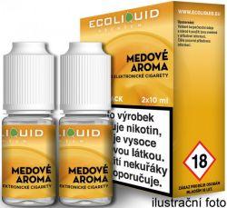 Liquid Ecoliquid Premium 2Pack Honey 2x10ml - 6mg (Med)