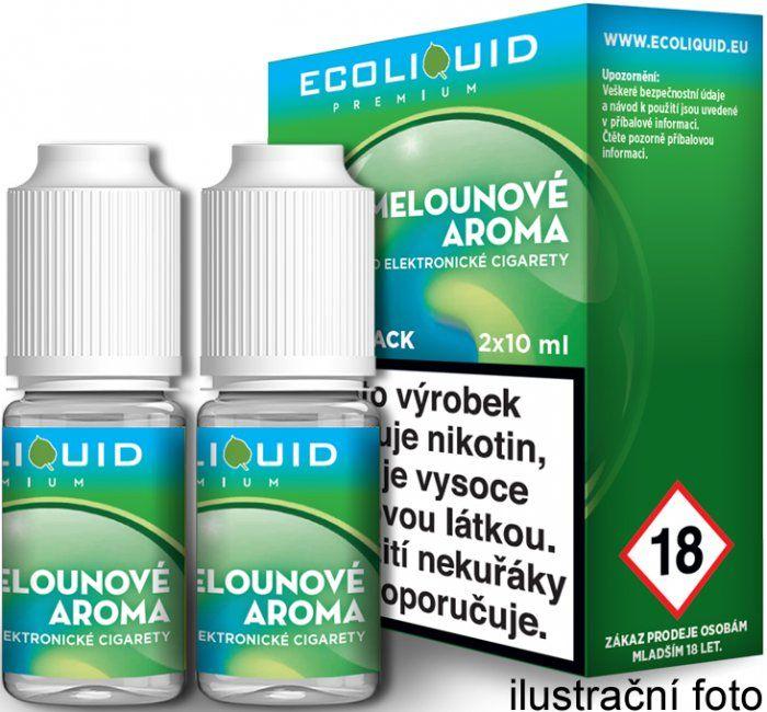 Liquid Ecoliquid Premium 2Pack ICE Melon 2x10ml - 20mg (Svěží meloun)