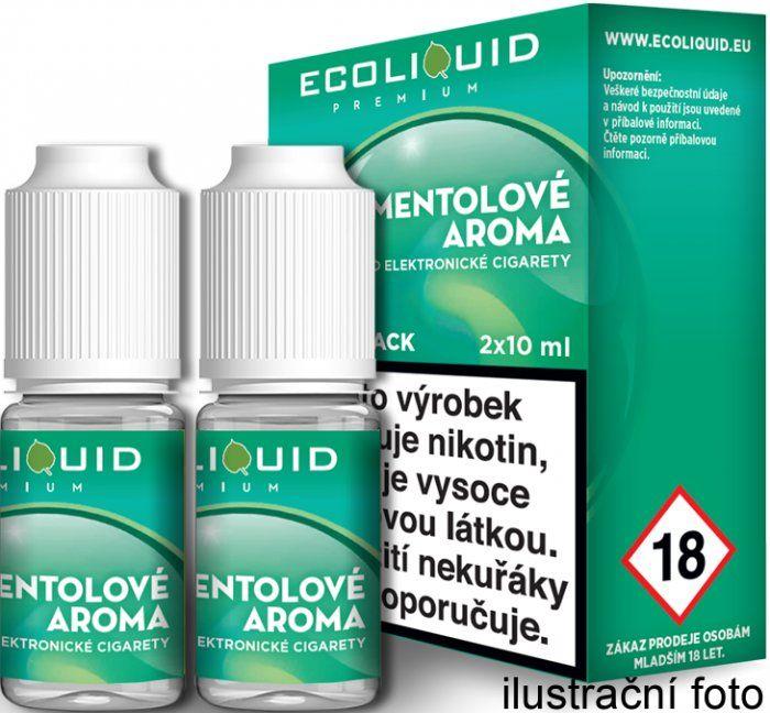 Liquid Ecoliquid Premium 2Pack Menthol 2x10ml - 3mg