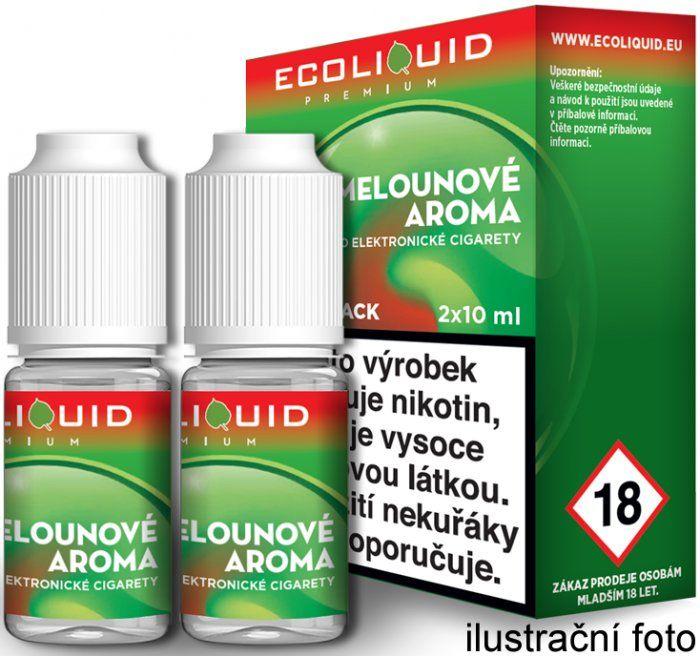 Liquid Ecoliquid Premium 2Pack Watermelon 2x10ml - 20mg (Vodní meloun)