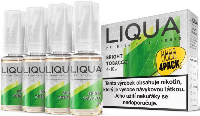 Liquid LIQUA CZ Elements 4Pack Bright tobacco 4x10ml-3mg (čistá tabáková příchuť)