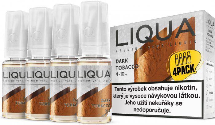Liquid LIQUA CZ Elements 4Pack Dark tobacco 4x10ml-3mg (Silný tabák)