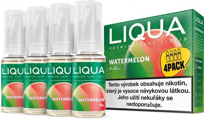 Liquid LIQUA CZ Elements 4Pack Watermellon 4x10ml-3mg (Vodní meloun)