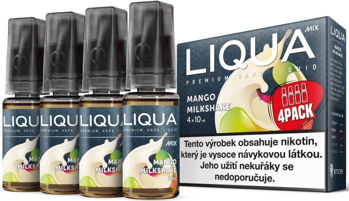 Liquid LIQUA CZ MIX 4Pack Mango Milkshake 10ml-6mg