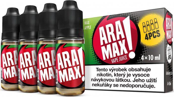 Liquid ARAMAX 4Pack Max Apple 4x10ml-12mg