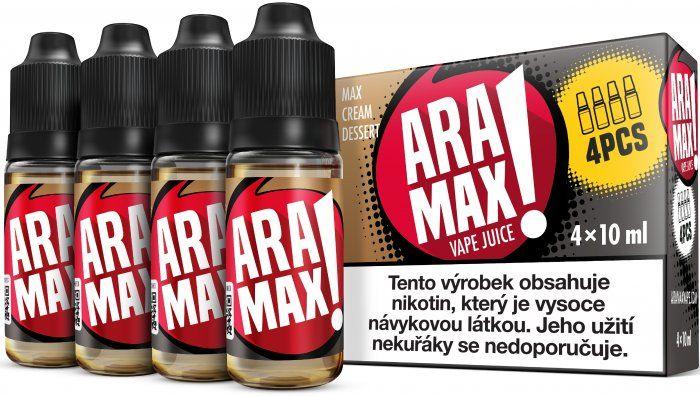 Liquid ARAMAX 4Pack Max Cream Dessert 4x10ml-12mg