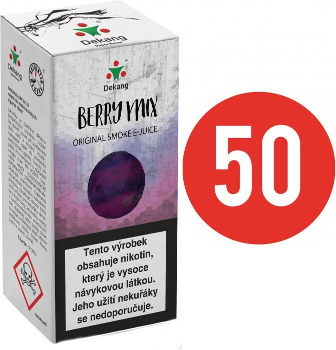 Liquid Dekang Fifty Berry Mix 10ml - 6mg (Lesní Plody)