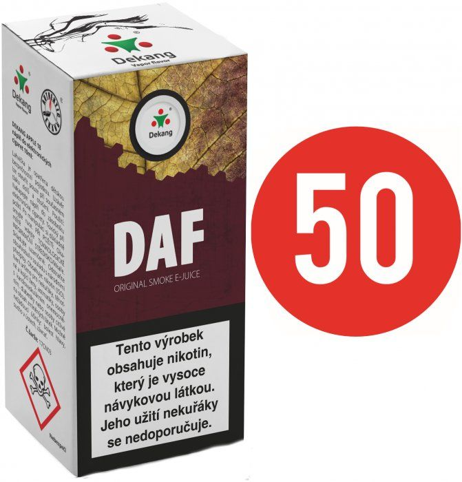 Liquid Dekang Fifty Daf 10ml - 18mg