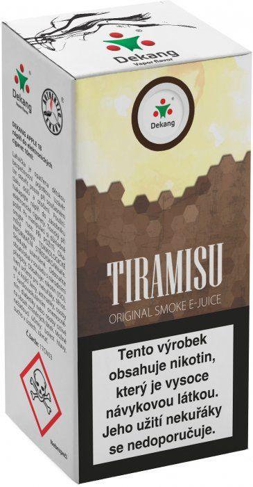 Liquid Dekang Tiramisu 10ml - 11mg (Tradiční italský dezert)