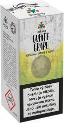 Liquid Dekang White Grape 10ml - 6mg (Hroznové bílé víno)
