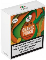 Liquid Dekang High VG 3Pack Orange Punch 3x10ml - 1,5mg