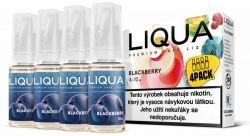 Liquid LIQUA CZ Elements 4Pack Blackberry 4x10ml-3mg (ostružina)