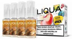 Liquid LIQUA CZ Elements 4Pack Cookies 4x10ml-6mg (Sušenka)