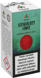 Liquid Dekang Strawberry mint 10ml - 6mg (Jahoda s mátou)