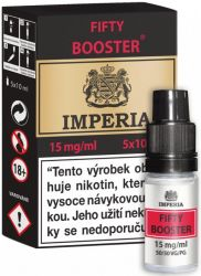 Fifty Booster CZ IMPERIA 5x10ml PG50-VG50 15mg