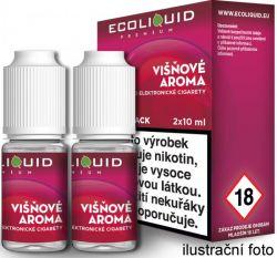 Liquid Ecoliquid Premium 2Pack Cherry 2x10ml - 6mg (Višeň)
