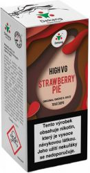 Liquid Dekang High VG Strawberry Pie 10ml - 3mg (Jahodový koláč)