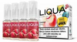 Liquid LIQUA CZ Elements 4Pack Cherry 4x10ml-6mg (třešeň)