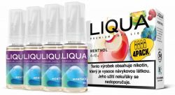 Liquid LIQUA CZ Elements 4Pack Menthol 4x10ml-3mg (Mentol)
