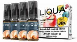 Liquid LIQUA CZ MIX 4Pack Vanilla Orange Cream 10ml-6mg