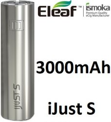iSmoka-Eleaf iJust S baterie 3000mAh Silver