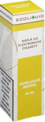 Liquid Ecoliquid Vanilla 10ml - 12mg (Vanilka)