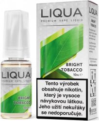 Liquid LIQUA CZ Elements Bright Tobacco 10ml-12mg (čistá tabáková příchuť) Ritchy-Liqua