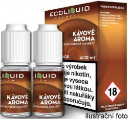 Liquid Ecoliquid Premium 2Pack Coffee 2x10ml - 12mg (Káva)