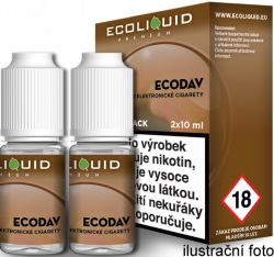 Liquid Ecoliquid Premium 2Pack ECODAV 2x10ml - 20mg