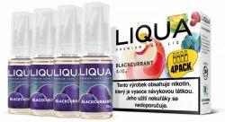 Liquid LIQUA CZ Elements 4Pack Blackcurrant 4x10ml-6mg (černý rybíz)