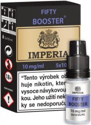 Fifty Booster CZ IMPERIA 5x10ml PG50-VG50 10mg