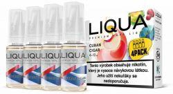 Liquid LIQUA CZ Elements 4Pack Cuban Cigar tobacco 4x10ml-3mg (Kubánský doutník)