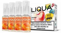 Liquid LIQUA CZ Elements 4Pack Orange 4x10ml-3mg (Pomeranč)