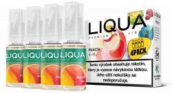 Liquid LIQUA CZ Elements 4Pack Peach 4x10ml-6mg (Broskev)