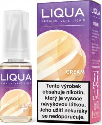 Liquid LIQUA CZ Elements Cream 10ml-3mg (Smetana)