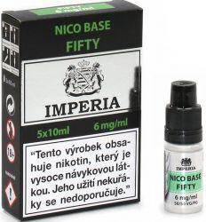 Nikotinová báze CZ IMPERIA 5x10ml PG50-VG50 6mg