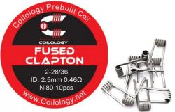 Coilology Fused Clapton předmotané spirálky Ni80 0,46ohm 10ks