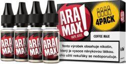 Liquid ARAMAX 4Pack Coffee Max 4x10ml-6mg